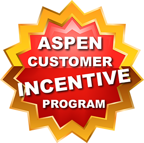 Click here to go to Aspen's Customer Incentive Program page